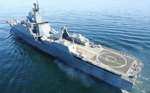 A Gepard-class frigate built by Russia's Gorky Zelenodolsk Plant. Photo credit: Gorky Zelenodolsk Plant.