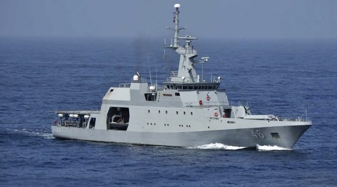 Latin American Navies Combat Illegal Fishing