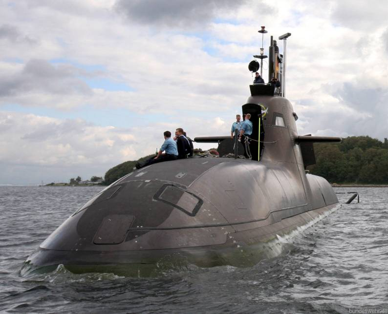 German Navy Type 212 submarine (Bundeswehr)