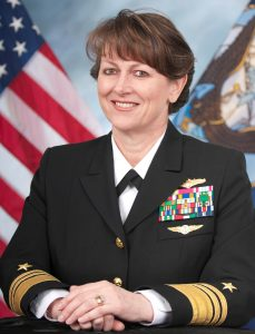 VADM Jan Tighe assumed duties as OPNAV N2/N6 and Director of Naval Intelligence in July 2016. Image credit: US Navy