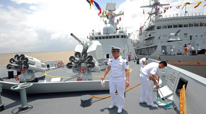 Reinforcing China's Malacca Dilemma