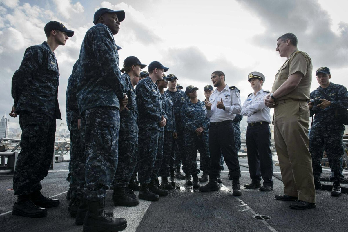 Photo of US-Israeli Naval Exercise in February 2016. Source: IDFSpokesman