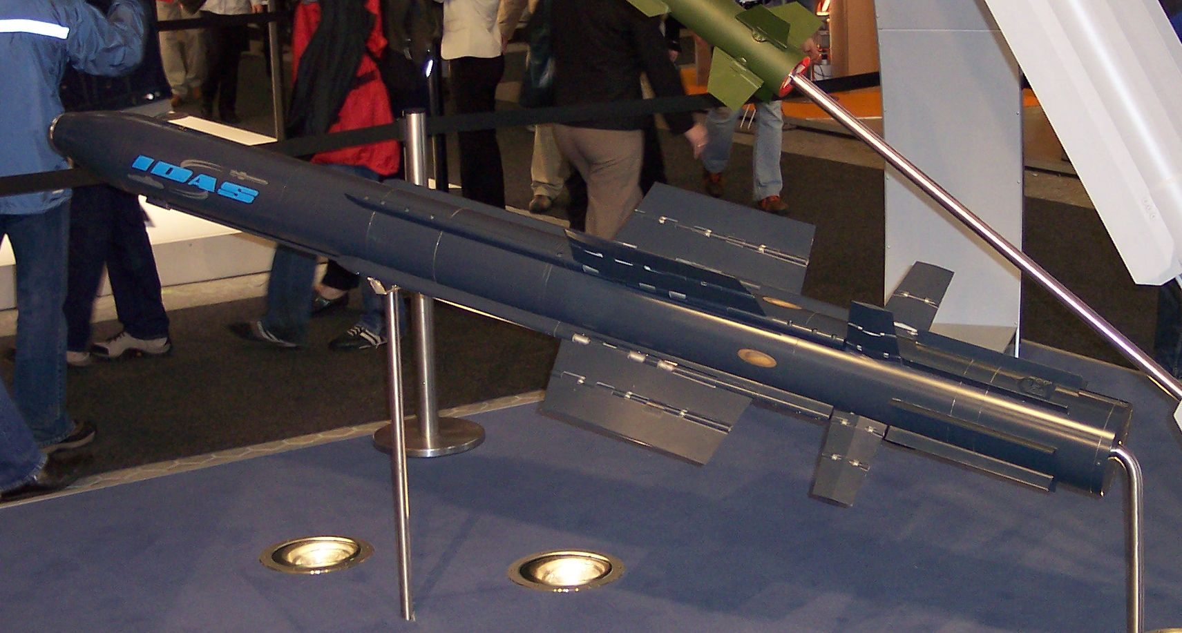Model of IDAS at the ILA 2006 (Wikimedia Commons)