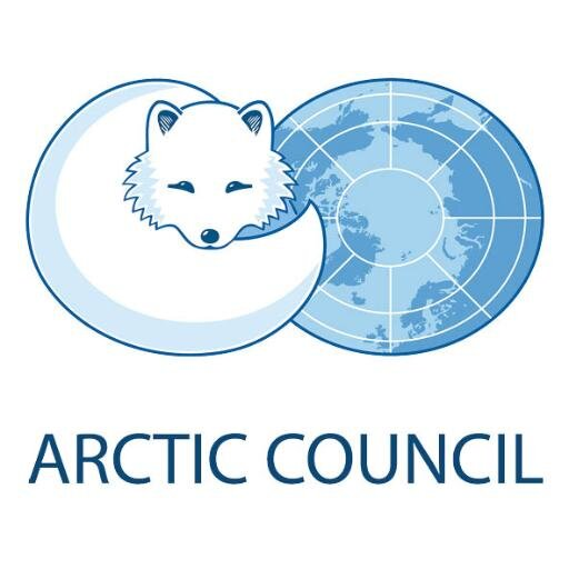 The Arctic Council logo.