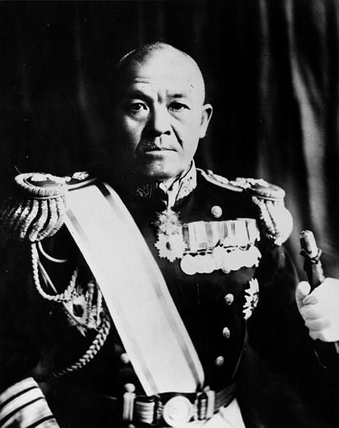 Japanese Admiral Chuichi Nagumo/Wikipedia