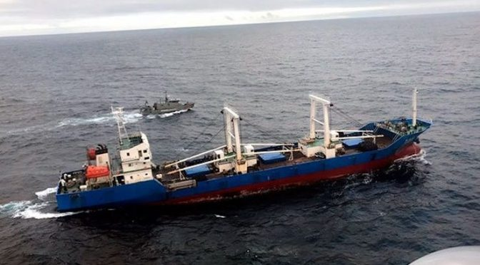 A Growing Concern: Chinese Illegal Fishing in Latin America