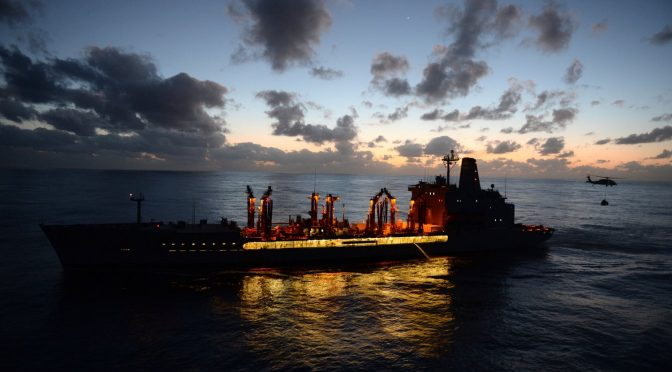 USNS Dreadnaught: A Combat Logistics Force for 21st Century Warfare