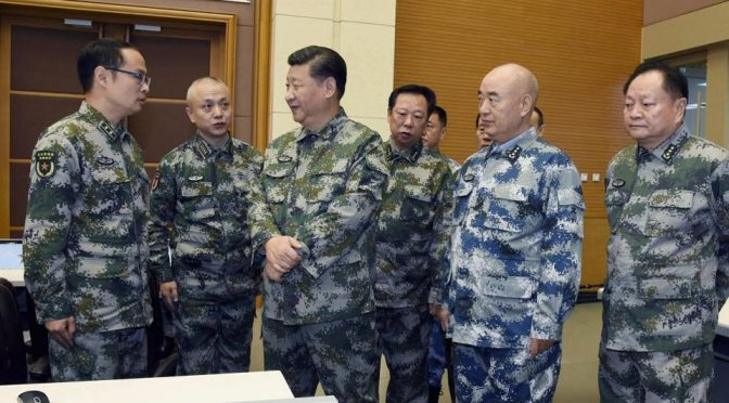 PRC Defense Policy Noted in the Nineteenth CCP National Congress