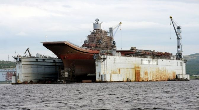 Strategic Loss: How EU Sanctions Affect Russia's Ability to Replace its Sunken Dry-Dock