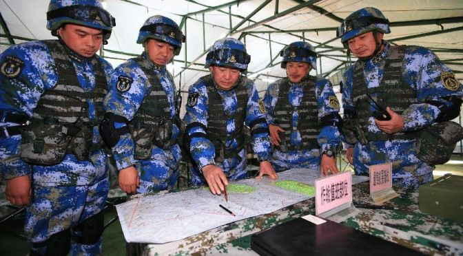 The Chinese Navy's Marine Corps, Part 1: Expansion and Reorganization