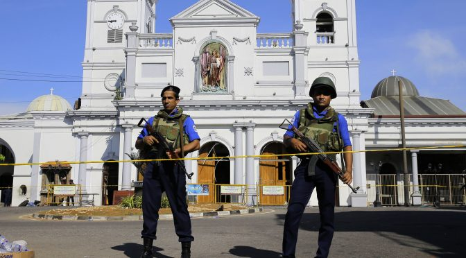 Easter Terrorist Carnage and Revitalizing Counterterrorism in Sri Lanka