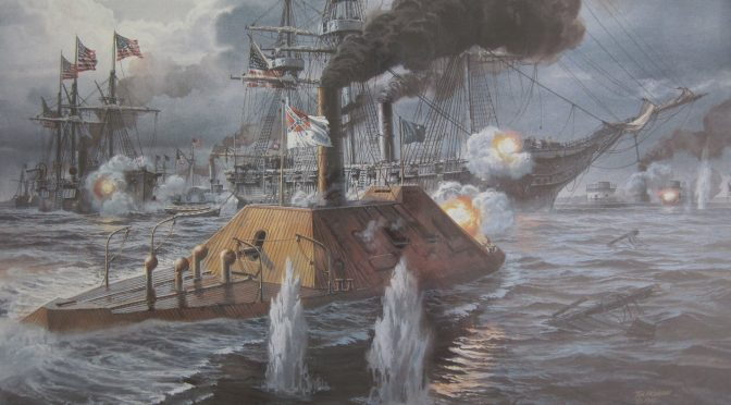 Confederate Sea Denial and Tactics of Asymmetric Naval Warfare