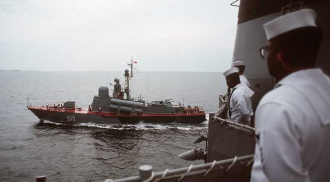 """Being """"Red"""": The Challenge of Taking the Soviet Side in War Games at the Naval War College, Pt. 1"""