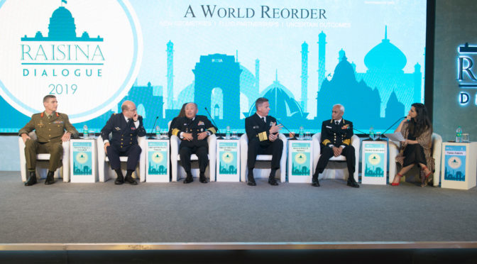 The Raisina Dialogues: Naval Convergence in the Indo-Pacific