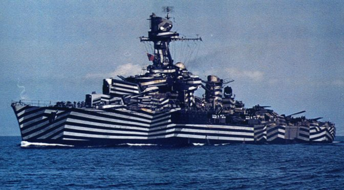 The Advent of Naval Dazzle Camouflage