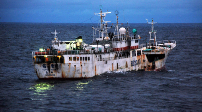 Fight Illegal Fishing for Great Power Advantage