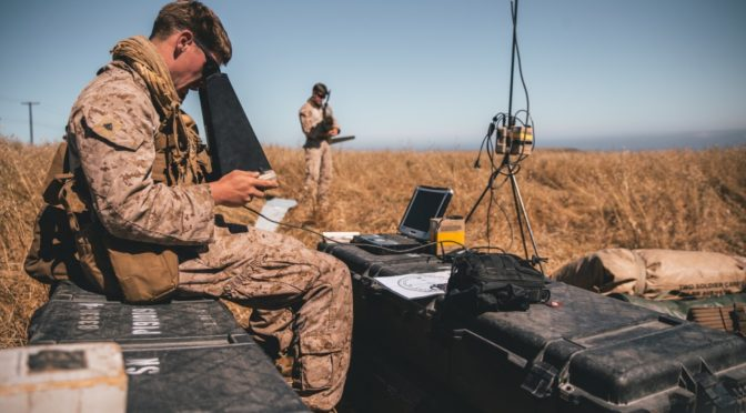 Winning The Spectrum: Securing Command and Control for Marine Stand-In Forces