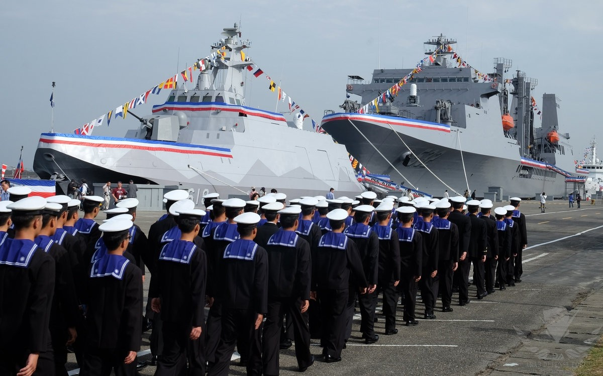 Between the Giants: The Future of the Taiwanese Navy in an Era of Great Power Competition